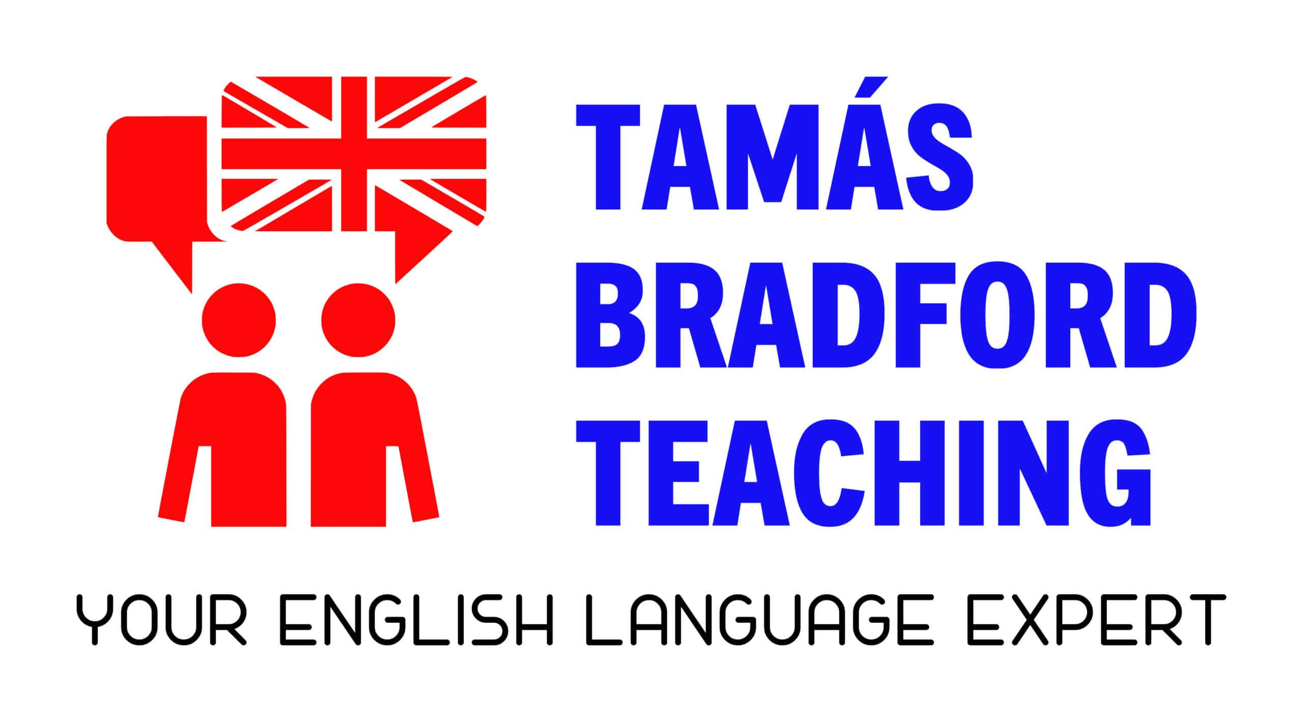 Logo - Tamas Bradford Teaching - your. English language expert