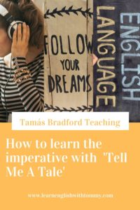 pin for how to learn imperative with tell me a tale