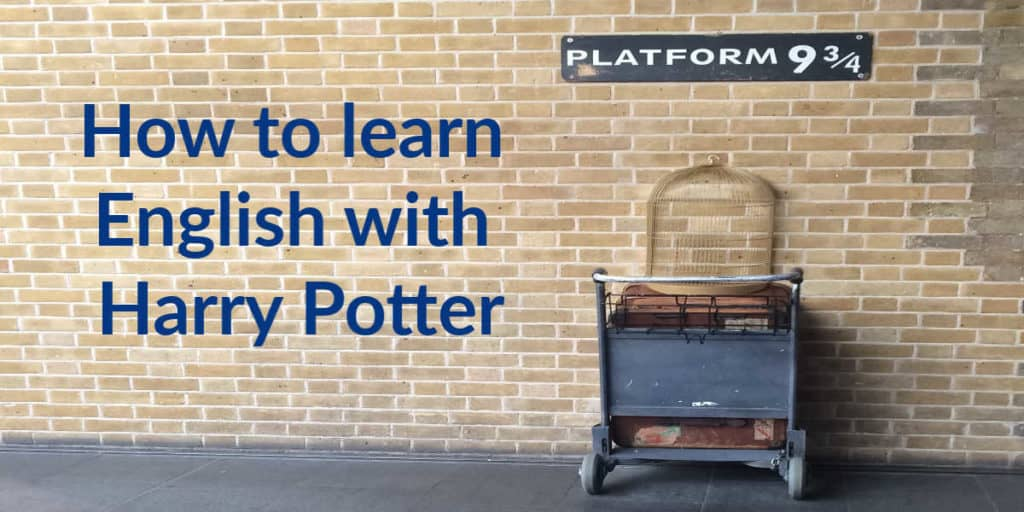 How to learn English with Harry Potter - featured image